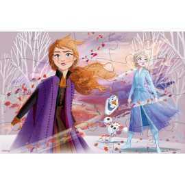 Frozen 2 - 4 Puzzle de madera