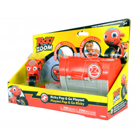 Ricky Zoom Push Pop Playset...