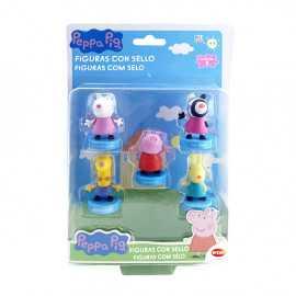 Peppa Pig Figura con sello...