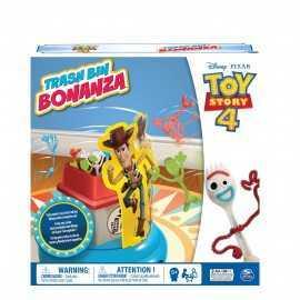 Toy Story 4 Forky a la basura