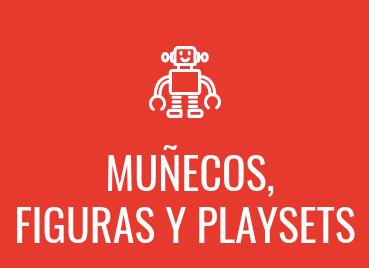Muñecos, figuras y playsets